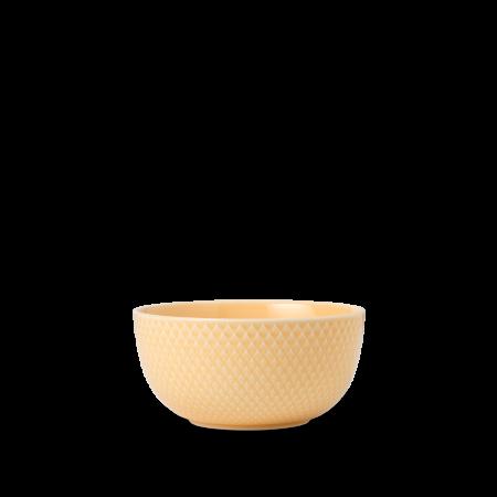 Lyngby - Rhombe Color Skål Sand - Ø13 cm