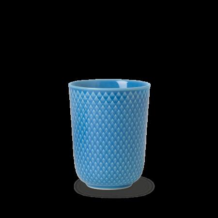 Lyngby - Rhombe Color Krus 33 Cl - Blå