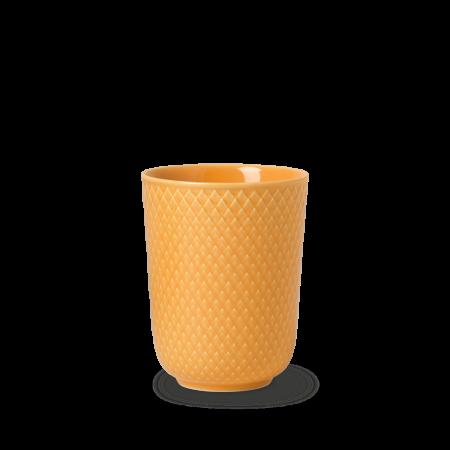 Lyngby - Rhombe Color Krus 33 Cl - Gul