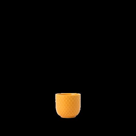Lyngby - Rhombe Color Æggebæger Gul - Ø5 cm
