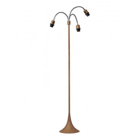Nielsen Light - Trafiklampe Træ Look U/Skærm