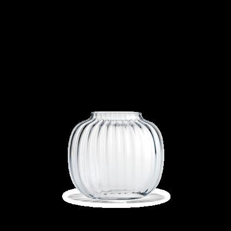 Holmegaard - Oval Vase  Primula -  Klar H12,5 Cm