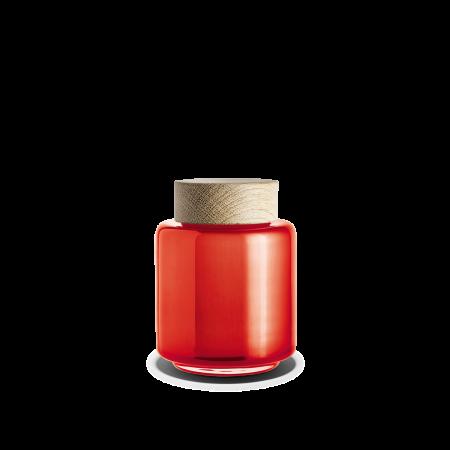 Holmegaard - Palet Lågkrukke Rød/Orange - 35 cl