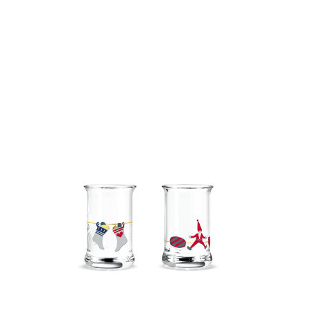 Holmegaard - Juledramglas 2020 - 3,0 cl, 2 stk.
