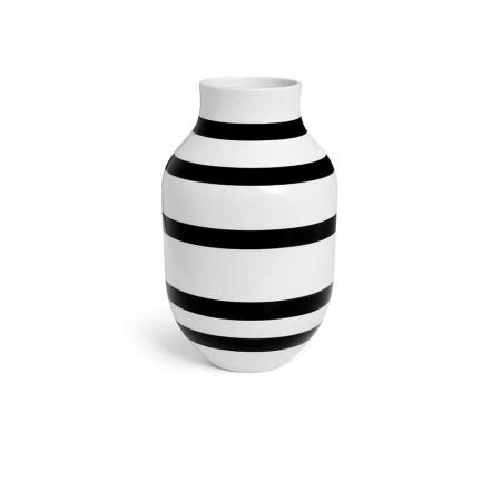 Kähler - Omaggio Vase Sort - H31 Cm