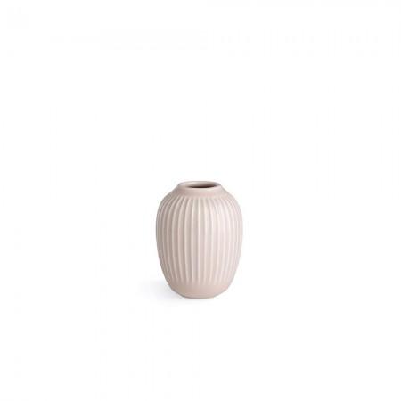 Kähler - Hammershøi Vase - Rosa H10,5 Cm.