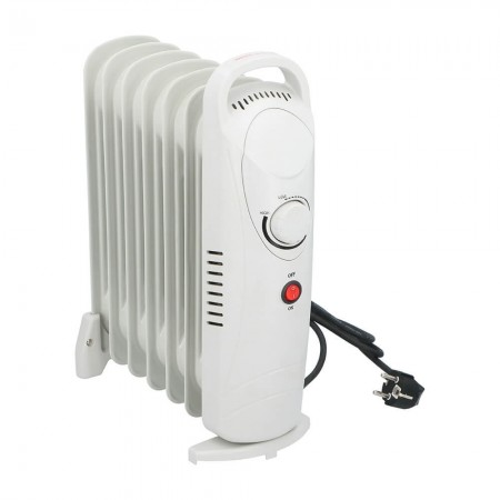 ALPINA - 850W Olieradiator - Hvid