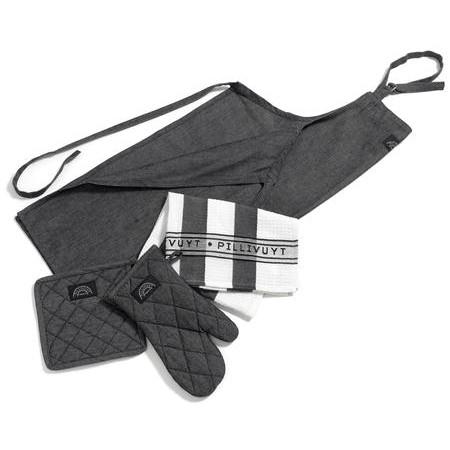 Pillivuyt - Tekstilsæt 6 Dele
