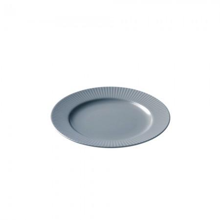 Aida - Groovy Stentøj - Frokosttallerken 21 Cm. Grå