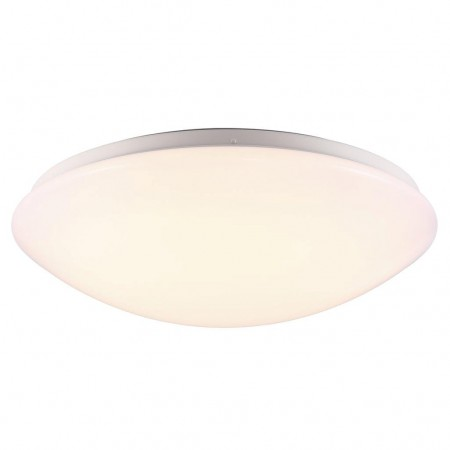 Nordlux - Ask Plafond Ø 36 Cm. - Plast & LED