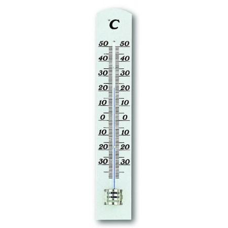 Rosenborg - Termometer Hvidlakeret - 3 X 18 Cm