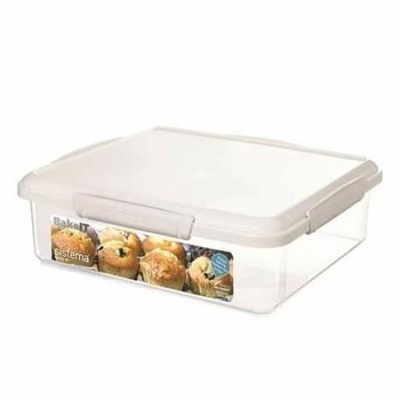 Sistema - Bake It opbevaringsboks 3,5 liter lav