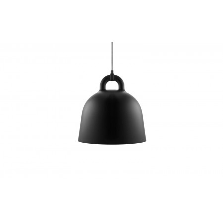 Normann - Bell Lampe Medium EU - Sort