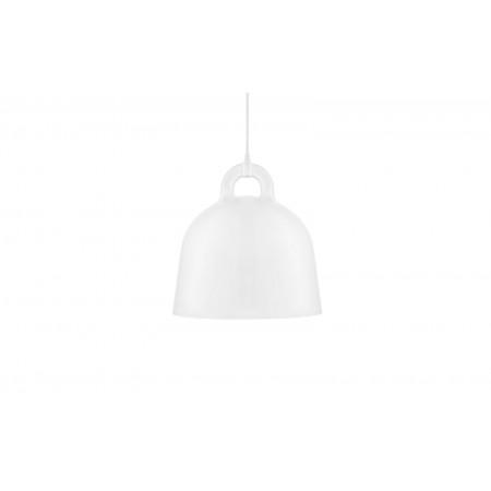 Normann - Bell Lampe Medium EU - Hvid