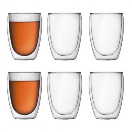 Bodum Pavina Dobbel Vægget Termo Glas 0,36 Liter - 6 Stykker
