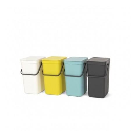 Brabantia - affaldsspand 12 liter grå