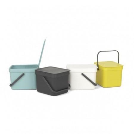 Brabantia - affaldsspand 6 liter grøn