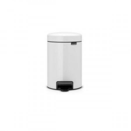 Brabantia - Pedalspand 3 liter hvid