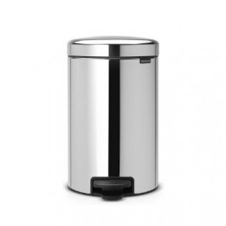 Brabantia - pedalspand 12 liter stål