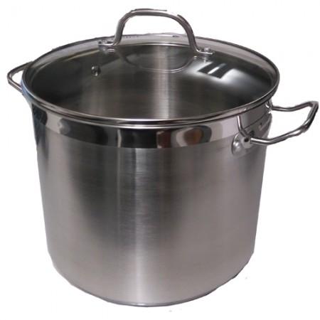 5705724020918 Conzept Gryde 19 liter i Rustfrit stål med glaslåg