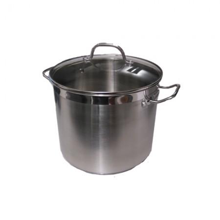 5705724020895 Conzept Gryde 11 liter i Rustfrit stål med glaslåg