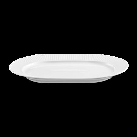 Pillivuyt - Plissé Serveringsfad Ovalt - Hvid L36Cm B25Cm