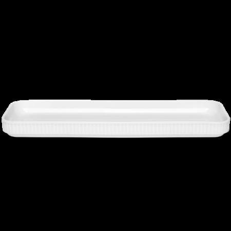 Pillivuyt - Plissé Tapasfad I Gaveæske - Hvid L36Cm B12Cm