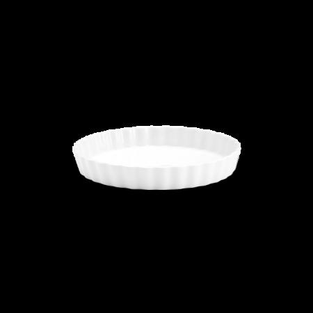 Pillivuyt - Tærteform nr. 7 - Hvid - Ø24Cm H3,5Cm