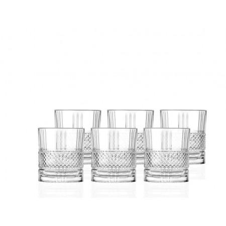 Lyngby - Whiskyglas Brillante 6 Stk. - 34 Cl