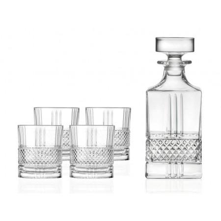 Lyngby - Whiskysæt Brillante - 5 Dele