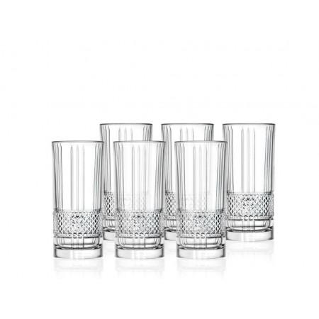 Lyngby - Highball Glas Brillante 6 Stk. - 37 Cl
