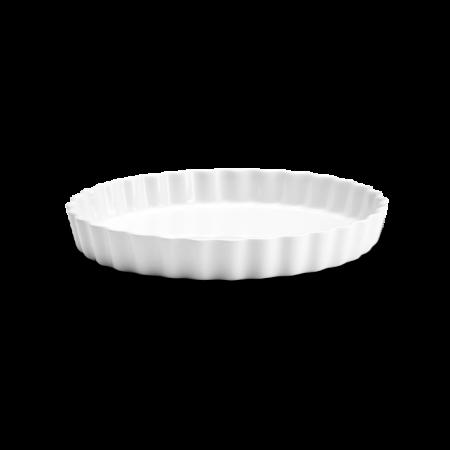 Pillivuyt - Tærteform nr. 9 - Hvid - Ø27,5Cm H3,8Cm