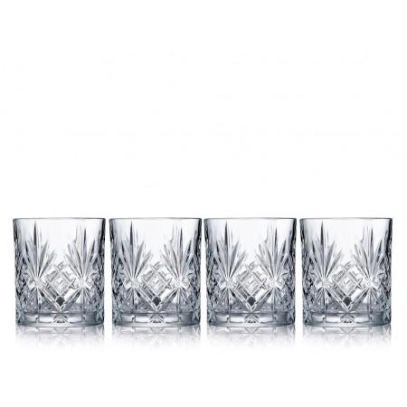 Lyngby - Krystal Melodia Shot Glas 4 Stk. - 5 Cl
