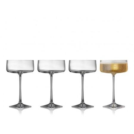 Lyngby - Krystal Zero Champagneskål 4 Stk. - 26 Cl