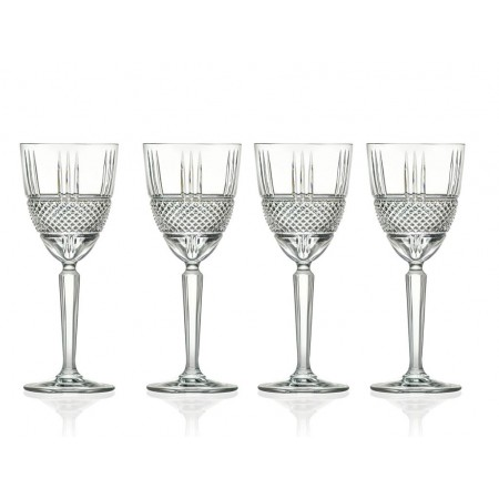 Lyngby - Hvidvinsglas Brillante 4 Stk. - 23 Cl