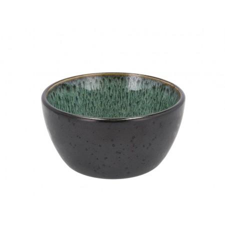 BITZ - Skål Dia. 12 x 6 cm - sort/grøn