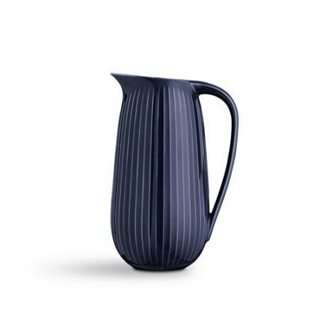 Kähler Hammershøi Kande 1,25 Liter - Indigo Blå.