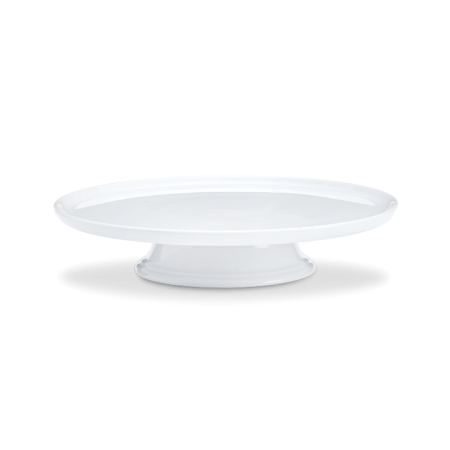 Pillivuyt - Kagefad På Fod - Hvid Ø30Cm