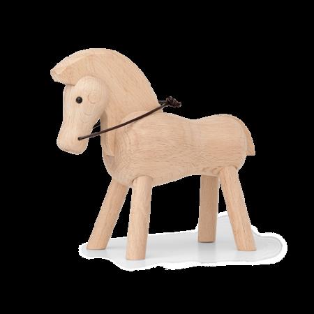 Kay Bojesen Hest - Lys Bøgetræ 14 Cm.