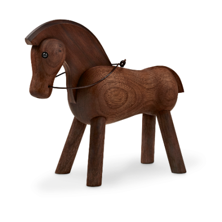 Kay Bojesen Hest - Valnød 14 cm.