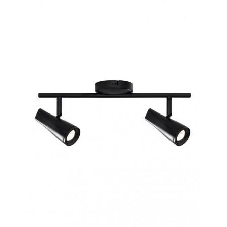 Nielsen - Kile dobbelt loft/vægspot sort