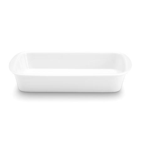 Pillivuyt - Lasagnefad Hvid 3,5 Liter - L34Cm B25Cm H6,4Cm