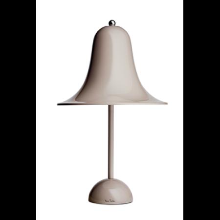 pantop bordlampe sand grå