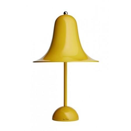 Verpan - Pantop bordlampe blank sennepsgul
