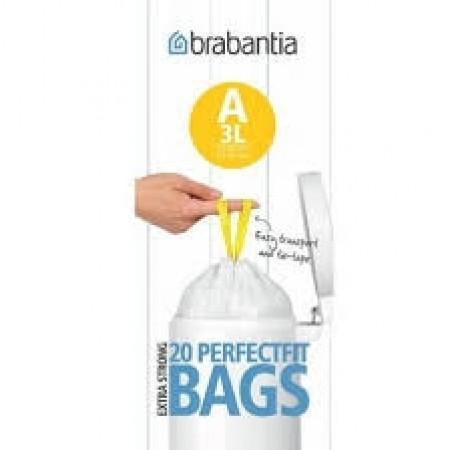 Brabantia - affaldsposer størrelse A   3 liter