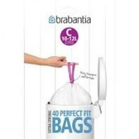 Brabantia - affaldsposer størrelse C    10-12 liter
