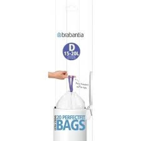 Brabantia - affaldsposer størrelse D    15 liter