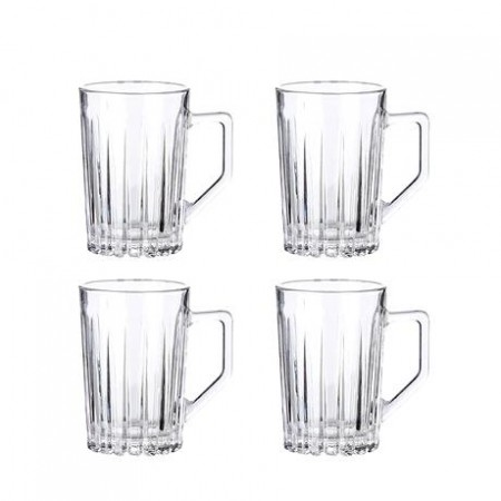 Aida - Relief Hot Drink Glas - 4 Stk. 27,5 Cl.