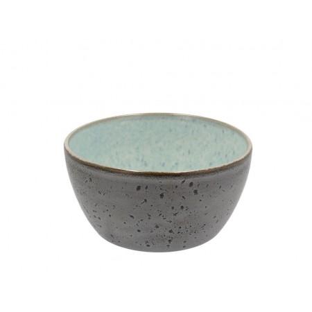BITZ - Skål Dia. 12 x 6 cm - grå/lysblå