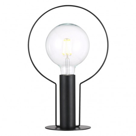 Nordlux - Dean Halo Bordlampe - H 35 Cm. Sort